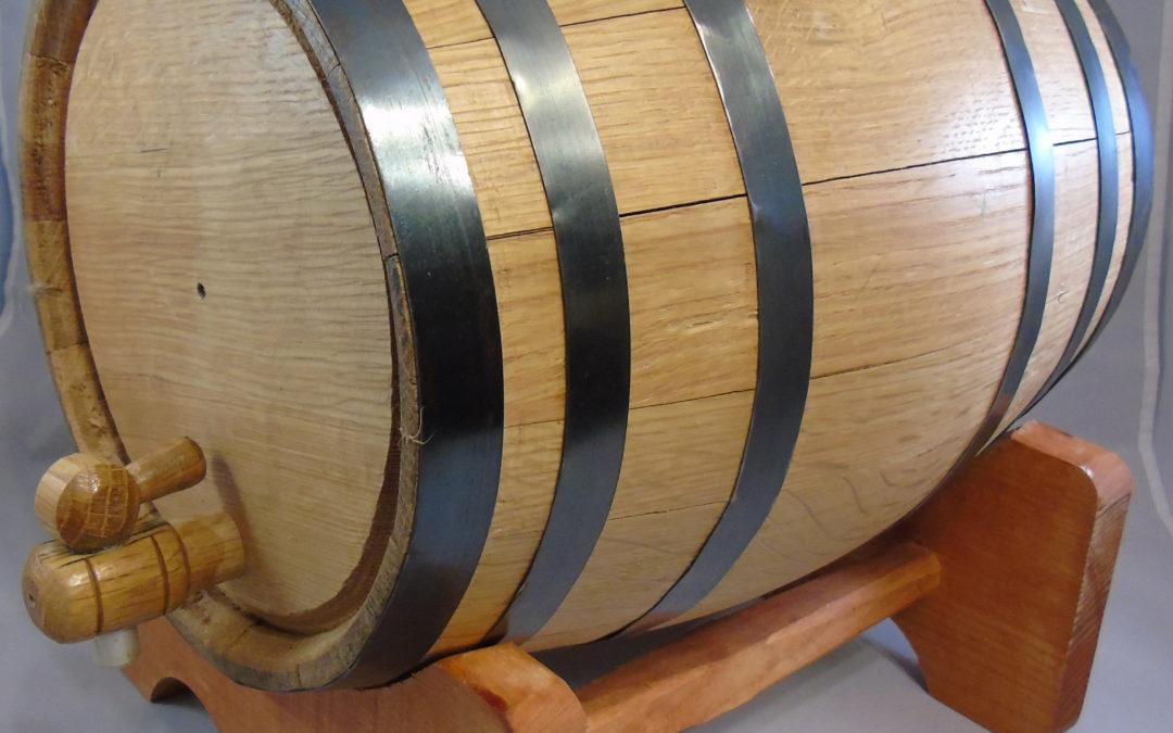 Small Oak Barrels Produce Great Taste